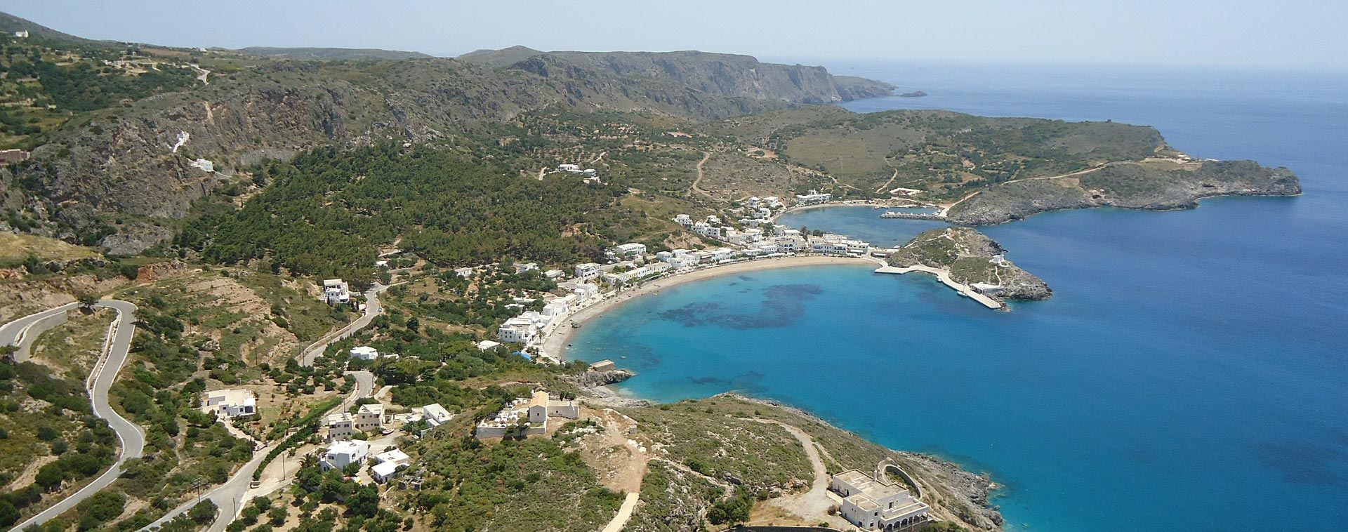 Sunniest Places in Greece - Kythira, Kapsali